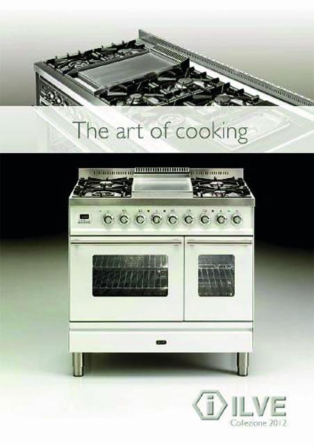 Listino Catalogo ILVE - Maggio 2012