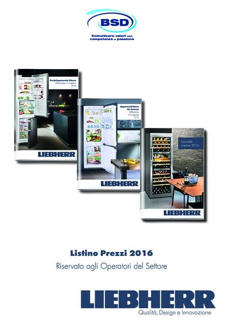 Listino Base LIEBHERR - Aprile 2016